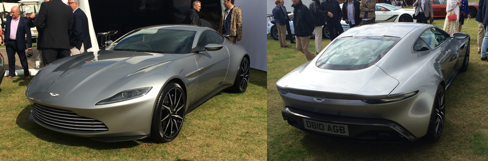 Aston Martin DB10 Spectre James Bond Salon Privé