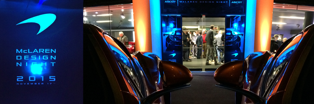 Mclaren Design Night Ascot