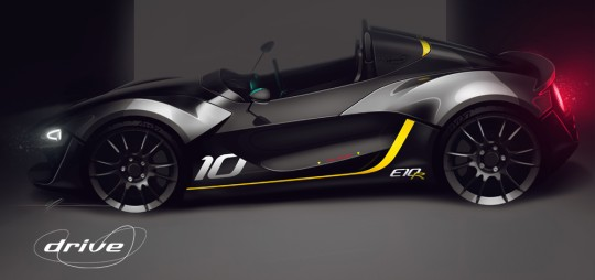 Zenos Cars Drive Edition E10R - Design Sketch 3