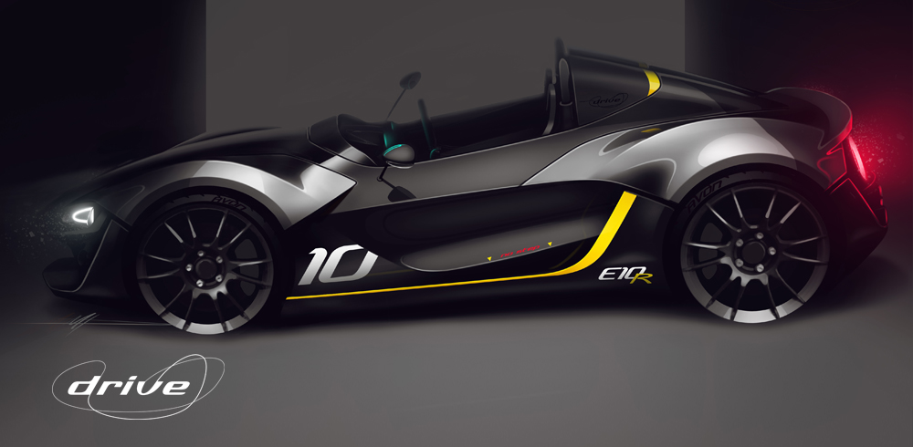 Zenos Cars Drive Edition E10R - Design Sketch 3